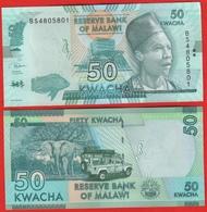 Malawi 50 Kwacha 2018 P-64e UNC - Malawi