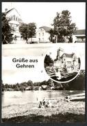 A1436 - Alte MBK Ansichtskarte - Grüße Aus Gehren - Kr. Luckau - Freibad Waldbad - Gel - Gehren