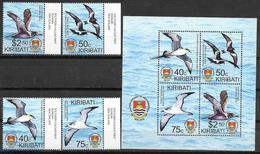 KIRIBATI, 2019, MNH, BIRDS, BIRDLIFE, 4v+  SHEETLET - Andere