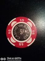 Lotto 3 FICHES: CASINO' DE BAVARO (REPUBBLICA DOMINICANA), PORTOROZ (SLOVENIA) E CASTILLO DE PERELADA(SPAGNA) - Casino