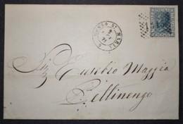 ANNULLI PIEMONTE: NUMERALE MOSSO SANTA MARIA Novara - 1861-78 Vittorio Emanuele II