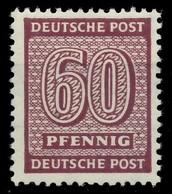 SBZ WESTSACHSEN Nr 137Ywa Postfrisch Gepr. X81927A - Zona Soviética