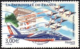 France Oblitération Moderne N° PA  71 - Poste Aérienne - Patrouille De France - Poste Aérienne
