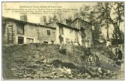 55 -  VAUCOULEURS  - Les Ruines De L'ancien Château - Altri Comuni
