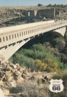 Route 66 Image Bridge At Two Guns Arizona, C1990s/2000s Vintage Postcard - Route '66'
