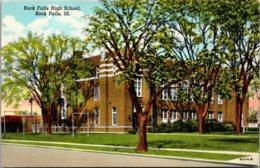 Illinois Rock Falls High School Curteich - Joliet