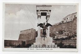 CALVI - N° 28 - MONUMENT AUX MORTS - CPA NON VOYAGEE - Calvi