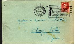 30717 - SECOURS NATIONAL - Postmark Collection (Covers)