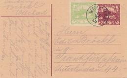 Tschecheslowakei: Ganzsache Welchau Nach Frankfurt - Czechoslovakia