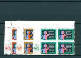 UNO NEW YORK 1964 Nr 145-147 Postfrisch (200735) - ONU
