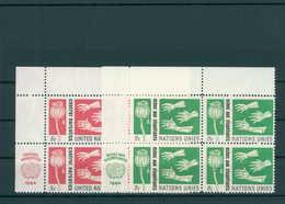 UNO NEW YORK 1964 Nr 142-143 Postfrisch (200733) - ONU