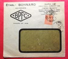Perforé B-Bonnard Avignon-Ancoper B 4 - Francia