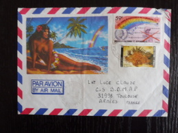 Polynésie Française, Lot De 2 Enveloppes - Collections, Lots & Séries