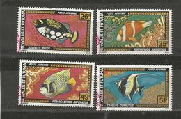 76/79  Poissons                 (clasyverouge25) - Used Stamps