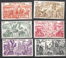 OCEANIE Yvert A 20/25 ** Cote € 15,35 - Unused Stamps
