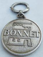 Porte  Clefs:    BONNET - MACHINE DE CUISINE ET D' ALIMENTATION TECHNICIEN DU FROID - Porte-clefs