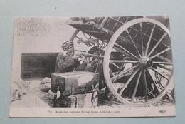 Algerian Soldier Firing From Behind A Car ( ELD - 71 ) Anno 191? ( Voir / See Photo ) ! - Weltkrieg 1914-18