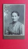 Old Carton Photograph.KARL ZECHEL,Goisern - Personas Anónimos
