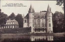 Cpa, Environs De Senlis, Le Château De MONT L'EVEQUE, (Résidence Des Evêques) Cliché Lhoste, écrite - France