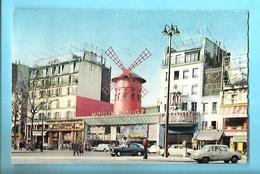 75----PARIS--MONTMARTRE--le Moulin Rouge--voir 2 Scans - Andere