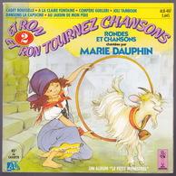 LIVRE DISQUE - 45T - Vinyle - Rondes Et Chansons - 407 - Enfants