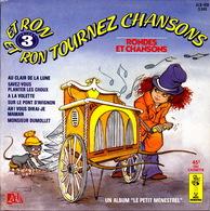 LIVRE DISQUE - 45T - Vinyle - Rondes Et Chansons - 408 - Enfants