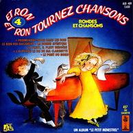 LIVRE DISQUE - 45T - Vinyle - Rondes Et Chansons - 409 - Enfants