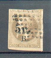 REU 698 - YT 5 ° Obli - Court De Marge - 2ème Choix - Réunion (1852-1975)
