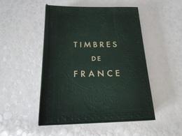 Album Timbres De France N°II - Large Format, Black Pages