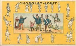 CHOCOLAT LOUIT -   Lot De 7 Chromos (format 10,7 Cm X 6,5cm) - Louit