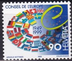 Schweiz 1999, 1688, MNH **, 50 Jahre Europarat. - Nuovi