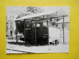 Photo Savoie ,tracteur De L'usine De Saint -Beron - Trains