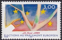 Frankreich, 1999, 3378, MNH **, Direktwahlen Zum Europäischen Parlament. - Unused Stamps