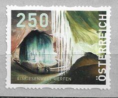 2018 Austria Österreich Mi. 8  **MNH Eisriesenwelt Werfen   Dispenserrollenmarken - 2011-... Ungebraucht