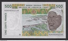 Côte D'Ivoire - 500 Francs - 2002  - Pick N°110Am - Neuf - Elfenbeinküste (Côte D'Ivoire)