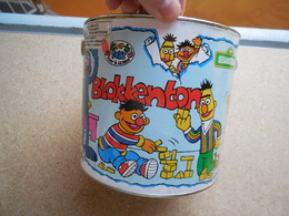 Peek-a-boo Toys, Sesame Street, Sesamstraat, Jeu Construction Bois (23 Blocs/25 : Manque 2 Blocs) - Andere Verzamelingen