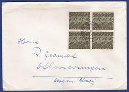 Brief Mehrfachfrankatur MiNr. 333 (br9788) - [7] Federal Republic