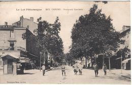 CAHORS - Boulevard Gambetta -  Kiosque De La  Dépêche... - Cahors