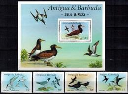 MDB-BK9-119 MINT ¤ ANTIGUA & BARBUDA 1987 KOMPL. SET ¤ BIRDS OF THE WORLD - VÖGEL - BIRDS - VOGELS - OISEAUX - AVES - - Songbirds & Tree Dwellers