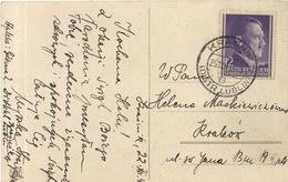 CARTE POSTALE ENVOYEE DE KRASNIK  . 1943 - 1939-44: 2ème Guerre Mondiale