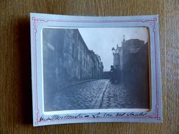 Paris 18ème Montmartre - La Rue Des Saules - Photo Ancienne Circa Début 1900 - Belle Animation - Arrondissement: 18