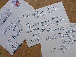André DUNOYER De SEGONZAC (1884-1974) PEINTRE & Graveur. AUTOGRAPHE - Autographes