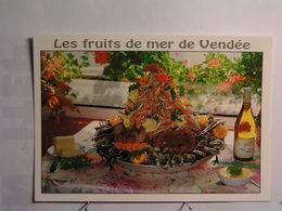 """L'Aiguillon Sur Mer - Restaurant """" Le Commerce """" - Recette : Les Fruits De Mer - Frankreich"""