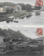 Esneux - 1906 - 2 Belles Cartes *406* - Esneux