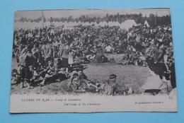 Camp De CANADIENS - The Camp Of The CANADIANS - GUERRE De 1914 ( LL ) Anno 19?? ( Voir / See Photo ) ! - Guerre 1914-18