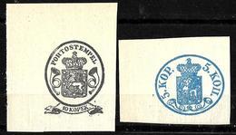 534 - FINLAND - 1845 - STATIONERY CUT-OFF - SOLD AS FORGERIES, FALSES, FALSCHEN, FAKES, FALSOS - Collezioni (senza Album)