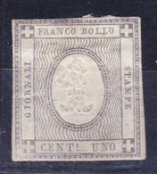 STAMPS-ITALY-1861-MH*-UNUSED-SEE-SCAN - Romagne
