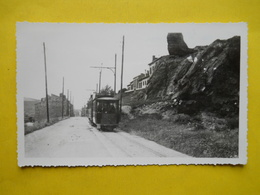 Photo Tramway De Saint-Etienne ,format Cpa - Pin-up