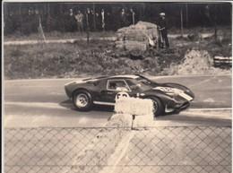 AUTO CAR VOITURE FORD GT 40 - GARA RACE 1000 Km DI MONZA 25 APRILE 1965 FOTO ORIGINALE - Automobiles