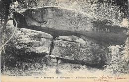A TRAVERS LE MORVAN : LE DOLMEN CHEVRESSE - Autres Communes
